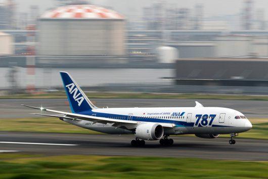 NH/ANA/全日空  B787-8 JA807A