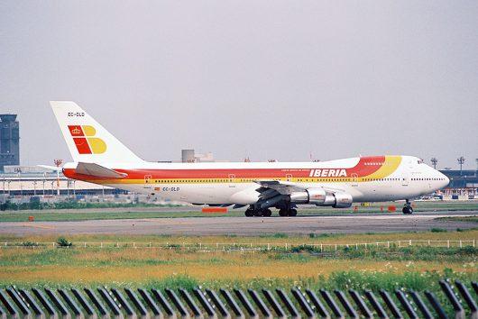 IB/イベリア航空 EC-DLD B747-200 EC-DLD
