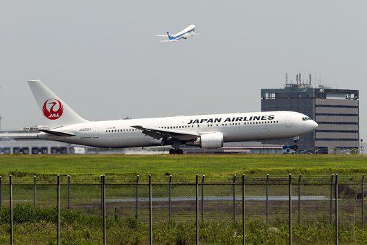 JL/JAL/日本航空 JL96 B767-300ER JA653J