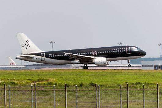 7G/SFJ/スターフライヤー 7G80 A320 JA08MC