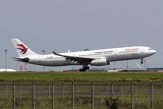 MU/CES/中国東方航空 MU537 A330-300 B-6119
