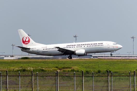NU/JTA/日本トランスオーシャン航空 NU22 B737-400 JA8938