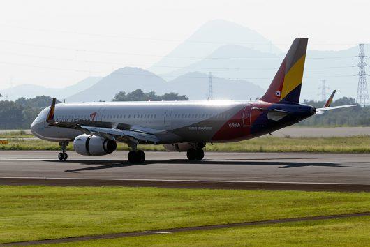 OZ/AAR/アシアナ航空 OZ166 A321 HL8060