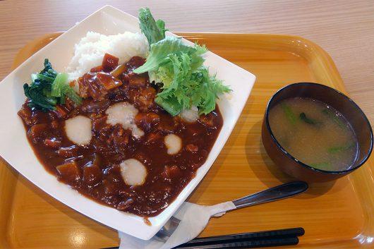 酒粕大吟醸カレー(750円)