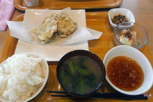 豚しそ天定食(950円)