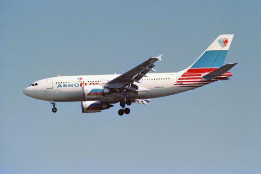 SU/AFL/アエロフロート・ロシア航空 A310 F-OGQQ