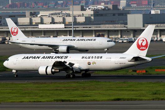 JL/JAL/日本航空  B767-300 JA8987
