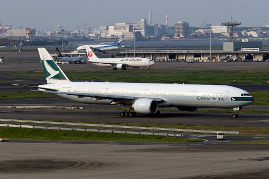 CX/CPA/キャセイパシフィック航空  B777-300ER B-KPU