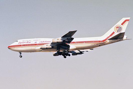 MS/MSR/エジプト航空 B747-300 SU-GAM