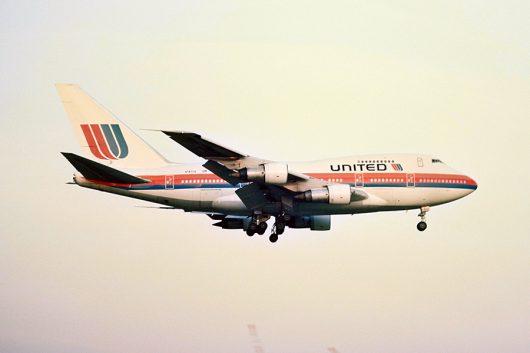 UA/UAL/ユナイテッド航空 B747SP