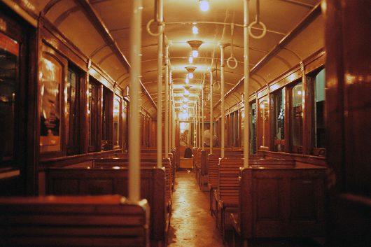 ブレノスアイレス地下鉄車内