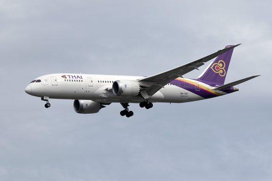 TG/THA/タイ国際航空 TG332 B787-8 HS-TQF