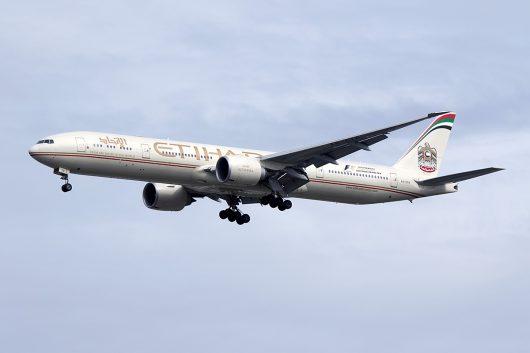EY/ETD/エティハド航空 EY406 B777-300ER A6-ETK