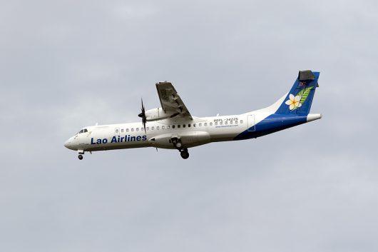 QV/LAO/ラオス国営航空 QV633 ATR72 RDPL-34255