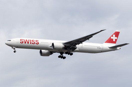 LX/SWR/スイス国際航空 LX180 B777-300ER HB-JNB