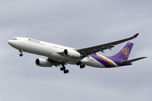 TG/THA/タイ国際航空 TG603 A330-300 HS-TEU