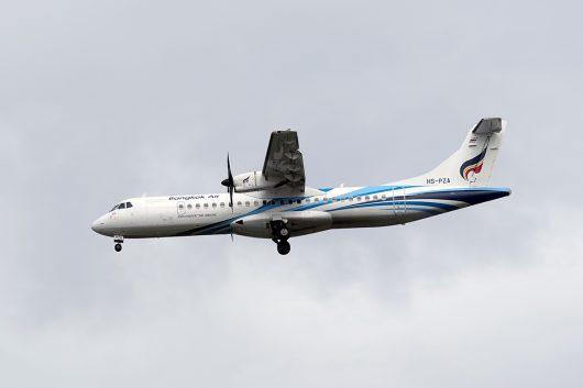 PG/BKP/バンコクエアウェイズ PG204 ATR72 HS-PZA