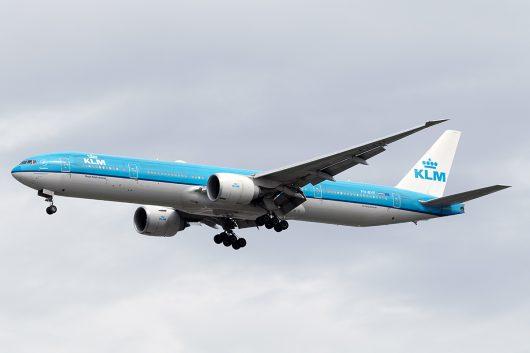KL/KLM/KLMオランダ航空 KL875 B777-300ER PH-BVF