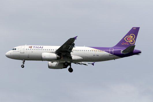 WE/THD/タイ・スマイル WE294 A320 HS-TXB