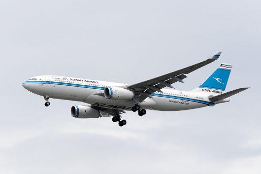KU/KAC/クウェート航空 KU411 A330-200 9K-APE