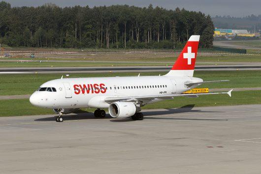 LX/SWR/スイス国際航空  A319 HB-IPX