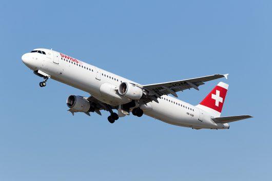 LX/SWR/スイス国際航空  A321 HB-IOM