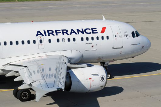 AF/AFR/エールフランス  A318 F-GUGA