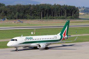 AZ/AZA/アリタリア航空 ERJ175 EI-RDB