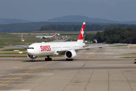 LX/SWR/スイス国際航空  B777-300ER HB-JNE