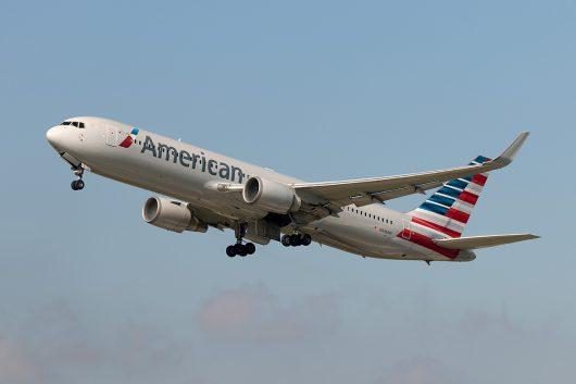 AA/AAL/アメリカン航空  B767-300ER N348AN