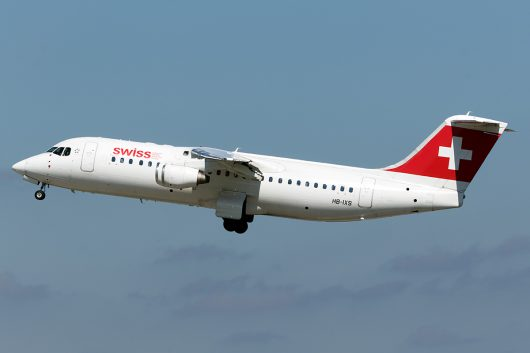 LX/SWR/スイス国際航空 ARJ100 HB-IXS