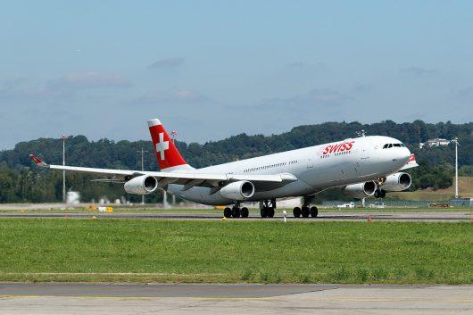 LX/SWR/スイス国際航空  A340-300 HB-JMD
