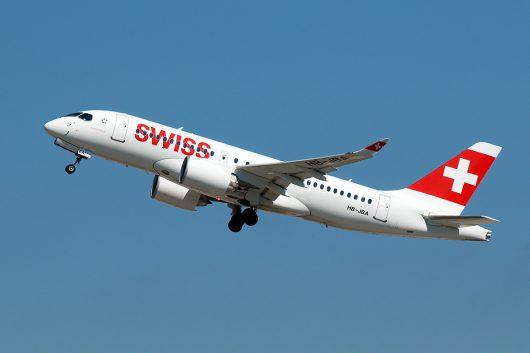 LX/SWR/スイス国際航空  CS100 HB-JBA