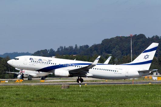LY/ELY/エルアルイスラエル航空  B737-800 4X-EKB