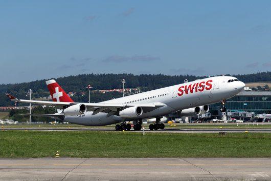 LX/SWR/スイス国際航空  A340-300 HB-JMH