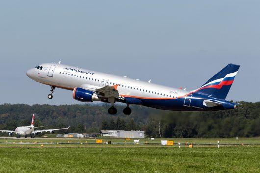 SU/AFL/アエロフロート・ロシア航空  A320 VP-BKC