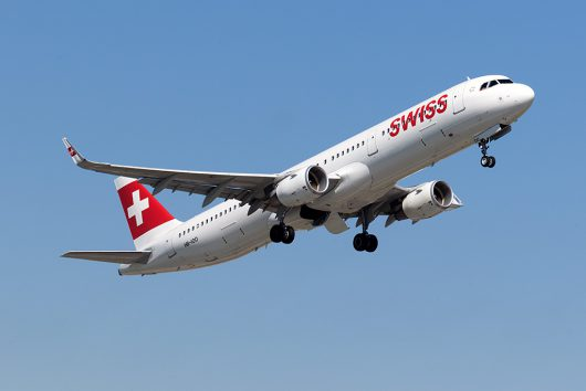 LX/SWR/スイス国際航空  A321 HB-IOO