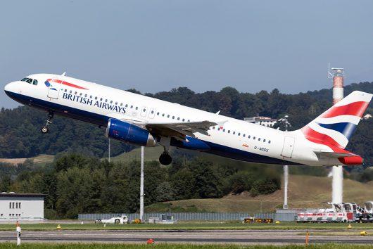 BA/BAW/ブリティッシュ・エアウェイズ  A320 G-MIDX