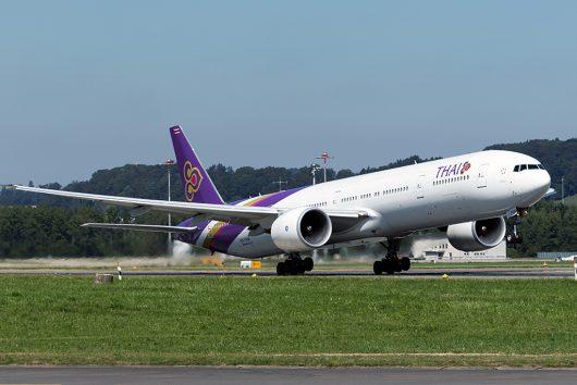 TG/THA/タイ国際航空  B777-300ER HS-TKN