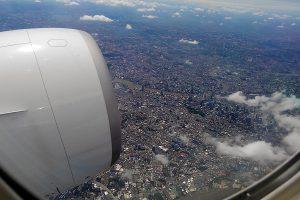 バンコク市内上空