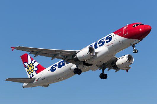 WK/EDW/エーデルワイス航空  A320 HB-IHY
