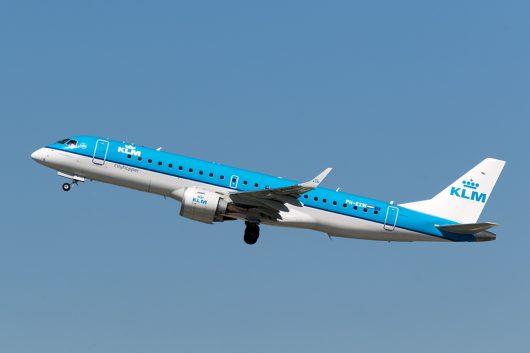 KL/KLM/KLMオランダ航空  ERJ190 PH-EZW