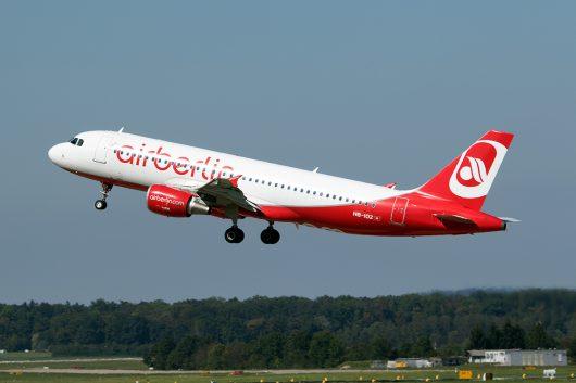 AB/BER/エア・ベルリン  A320 HB-IOZ