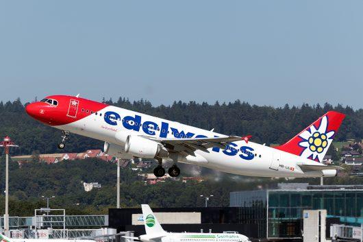 WK/EDW/エーデルワイス航空  A320 HB-IJU