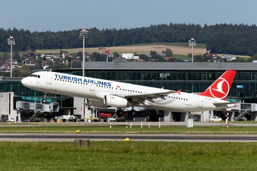 TK/THY/トルコ航空  A321 TC-JRP