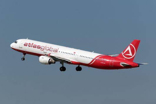 KK/KKK/アトラスジェット  A321 TC-ATB