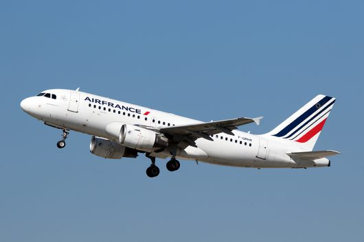 AF/AFR/エールフランス  A319 F-GRHR