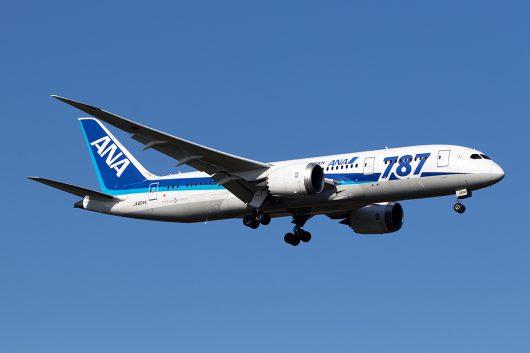 NH/ANA/全日空 NH820 B787-8 JA804A