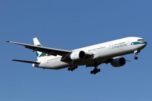 CX/CPA/キャセイパシフィック航空 CX504 777-300 B-HNM