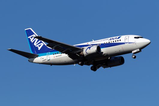 NH/ANA/全日空 NH3234 B737-500 JA307K